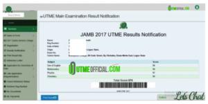 Testimonies : Past Jambites Results