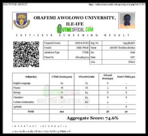 Upgrade POST UTME Score -Result /Increase POST JAMB 2022 Score/Result